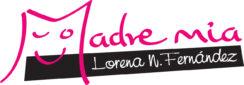 Logo color Ilustracion idiomas AyMadreMia de Lorena Neira Fernandez